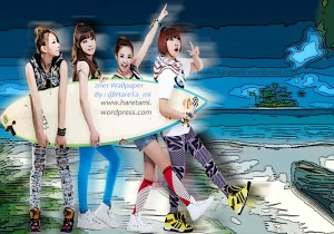 2ne1 wallpaper by haretami